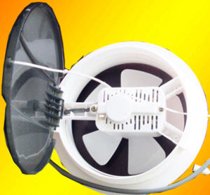 Round Ventilation Fan/PP Plastic Faan pictures & photos
