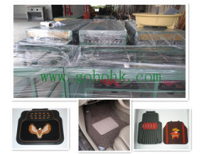 Soft PVC Car Foot Mat Automatic Dripping Bidirection Production Line Multi-Color Supported pictures & photos