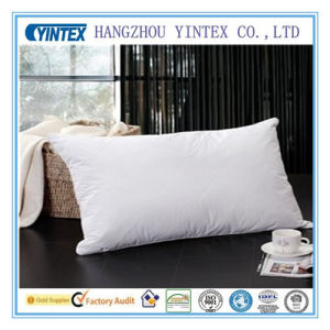 Hotel Luxury Goose Down Sleeping Pillow pictures & photos