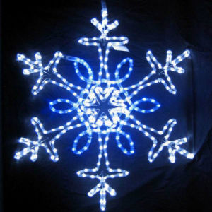 LED Snowflake Motif Light for Xmas Home Decoration pictures & photos