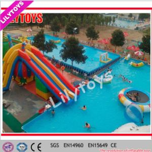 Lilytoys! Large Metal Frame Swimming Pool for Sale (Lilytoys-wp-049) pictures & photos