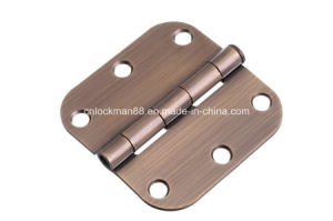Competitive Polished Brass Plated Duty Hinge (SH-017) pictures & photos