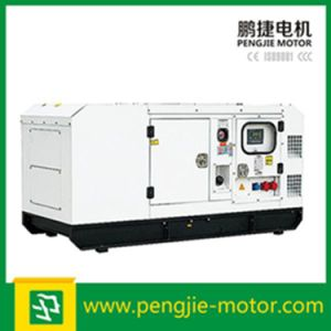 Electric Start 4 Wheels Mobile Automatic Voltage Regulator Soundproof Diesel Generator