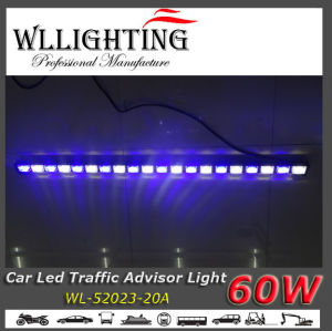 """LED Grill Traffic Directional Warning Light 47"""" Blue White pictures & photos"""