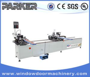 Aluminum Window Door Double Head Corner Crimping Machine pictures & photos