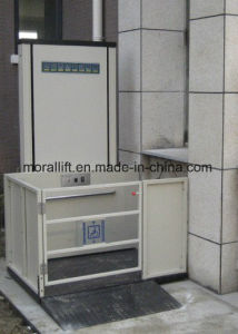 CE Certificated Disabled Wheelchair Platform Lift pictures & photos