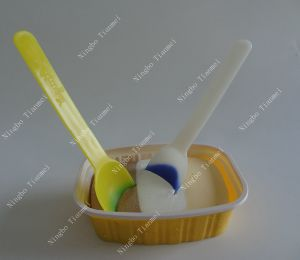 Plastic Ice Cream Spoon, Color Changing Spoon pictures & photos