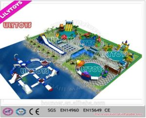 Lilytoys Mobile Water Amusement Park with Metal Fram Swimming Pool (Lilytoys-wp-039) pictures & photos