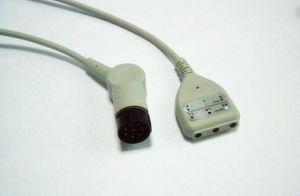 Nihon Kohden Snap&Clip 8pin DIN 3 Trunk ECG Cable pictures & photos
