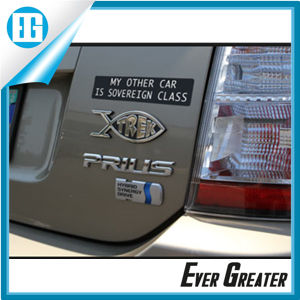 Adhesive 3D Chrome Emblems for Car Decoration pictures & photos
