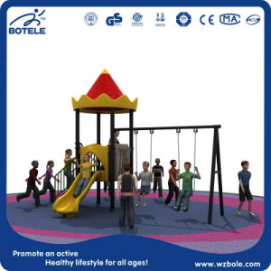High Quality Kids Outdoor Playground Cheap Funny Kids Playground Outdoor Playground Item with Garden Iron Swing for Kindergarden
