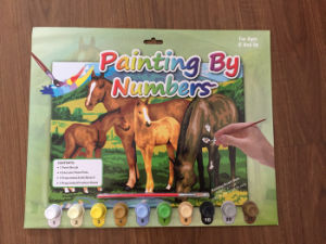 Painting by Numbers-Horse