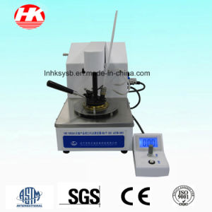 Semi-Automatic Closed-Cup Flash Point Tester F pictures & photos