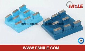 Diamond Calibrating Profile Frankfurt Grinding Polishing Abrasive for Engineered Quartz