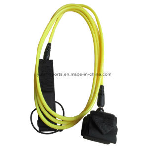 8mm 10′ Yellow Colour TPU Surf Leash for Surfboard pictures & photos