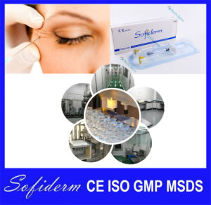 Sofiderm Hyaluronic Acid Injectable Dermal Filler for Anti Wrinkle Finelines 1.0ml pictures & photos