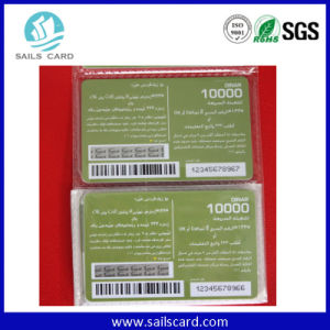 Inkjet Printed Serial No. or Barcode Card pictures & photos