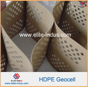 Honeycomb Structure Plastic HDPE Geocell pictures & photos