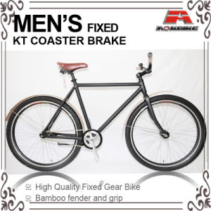 Coaster Brake 700c Fixed Gear Bike with Fender (KB-700C17) pictures & photos