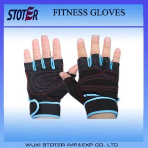 Professional Training Wrist Wrap Weight Lifting Gym Workout Fitness Gloves pictures & photos
