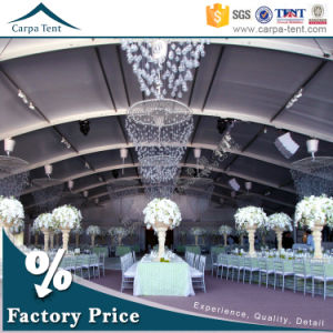 Flame Retardant Carpa Branded Opaque PVC Fabric Outdoor Wedding Tents for Sale pictures & photos