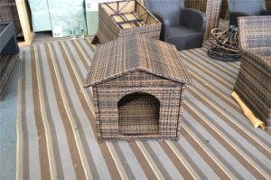 Elegant Outdoor Garden Rattan Wicker Pet Dog Bed