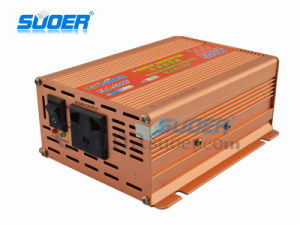 Suoer Power Inverter 500W Solar Power Inverter 48V to 220V Modified Sine Wave Power Inverter (FAA-500F) pictures & photos