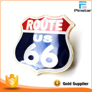 Route 66 Icon of America Historic Highway Lapel Pin Badge pictures & photos