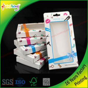 Factory Custom Clear PP/ Pet Color Plastic Packaging Box for Phone Case with Hanger pictures & photos