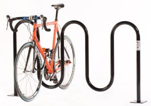 Steel Floor Invert Wave Bicycle Rack pictures & photos