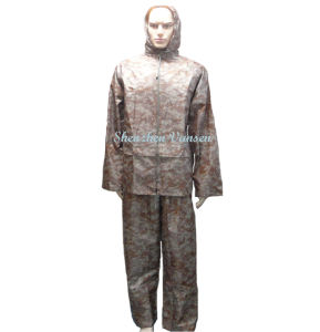 Army Digital Desert Camouflage Long Rain Suit pictures & photos