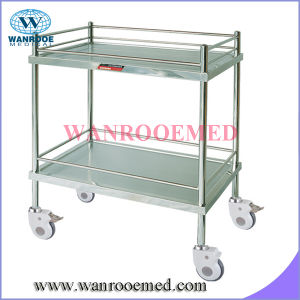 Stainless Steel Dressing Trolley Without Drawer pictures & photos