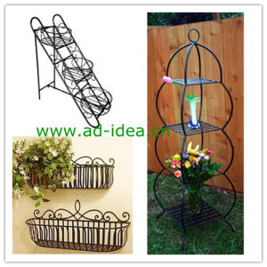 Metal Plant Stand, Garden Metal Planter, Garden Patio Furniture (AD-GDS-9870) pictures & photos