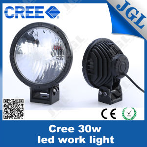 Round Offraod Lights, LED 12 Volt Work Light 30W pictures & photos