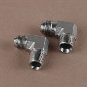 90o Elbow Jic Male 74o Cone/NPT Adapter pictures & photos
