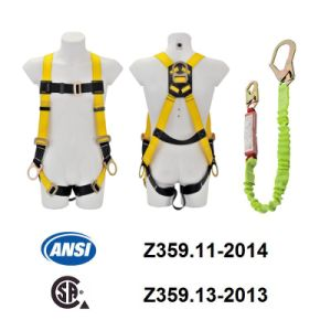 ANSI Full Body Harness (JE135005C+JE311237Y) pictures & photos