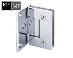 Brass or Stainless Steel Glass Shower Hinge (SH-201-90HP) pictures & photos