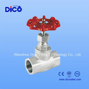NPT Thread Stainless Steel Globe Valve pictures & photos