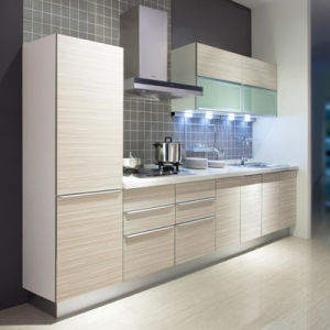 Custom New Melamine Faced (MFC) Kitchen Cabinet pictures & photos