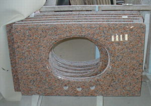 Beige Granite Vanity Top, Granite Countertop pictures & photos