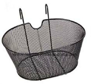 Metal Steel Durable Bicycle Basket for Bike (HBK-127) pictures & photos