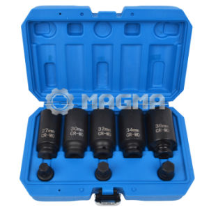 "8 PCS 1/2"" Drive Shaft Socket Set 27-30-32-34-36 mm (MG50486) pictures & photos"