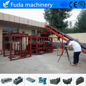Hydraulic Force Concrete Block Paver Brick Making Production Line pictures & photos
