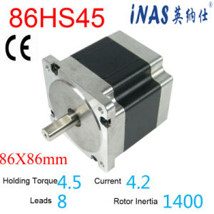 1.8 Deg 86mm NEMA34 Stepper Driver Motor (86HS45)