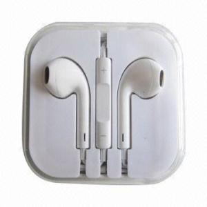 3.5mm Earpods for iPhone Earphones with Mic and Remote pictures & photos