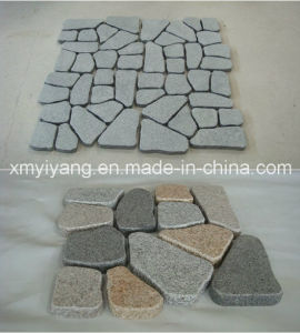 Irregular Granite Paving Stone, Cube Stone, Cobble Stone pictures & photos