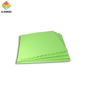 Waterproof Colorful Kamiqi EVA Foam Floor Mats--Leaf Texture pictures & photos