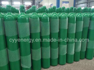 High Quality 50L High Pressure Argon Oxygen Nitrogen Carbon Dioxide Seamless Steel Cylinder pictures & photos