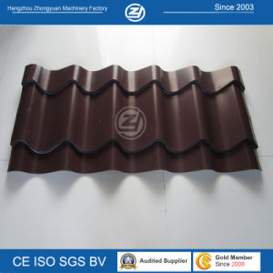 Steel Tile Roofing Sheet by Cold Roll Forming Machine pictures & photos