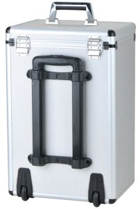 Portable OEM Aluminum Luggage Tool Trolley Case with Wheels and Rod pictures & photos